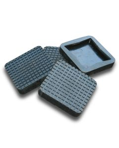 Square Rubber Pads by BendPak